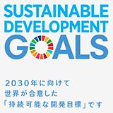 2030年に向けて世界が合意した持続可能な開発目標です